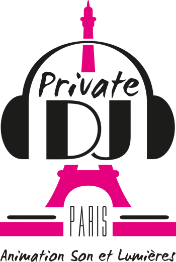 Logo Private DJ Paris-Tour Eiffel Rose
